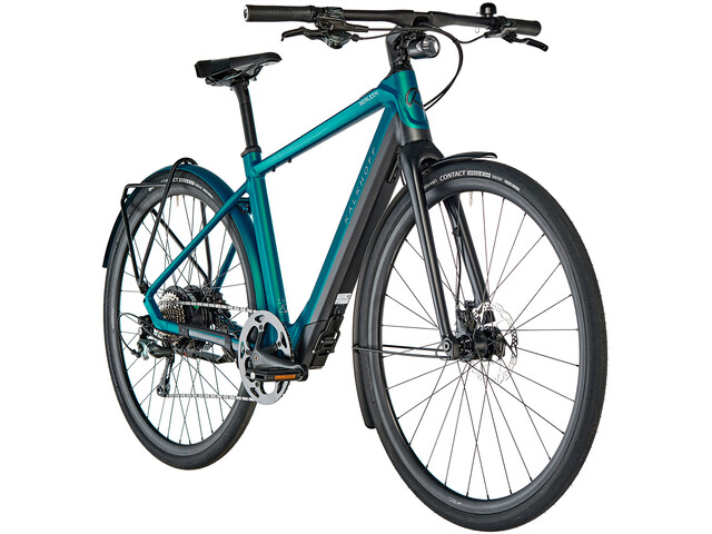 Kalkhoff Berleen 5.G Edition E-citybike Diamant 252Wh blå (2019) | City-cykler